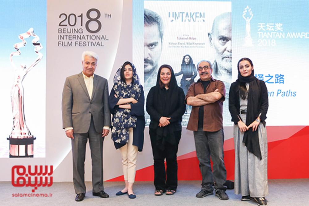 نشست پرسش و پاسخ فیلم «ملی و راه های نرفته اش» در جشنواره فیلم پکن2018