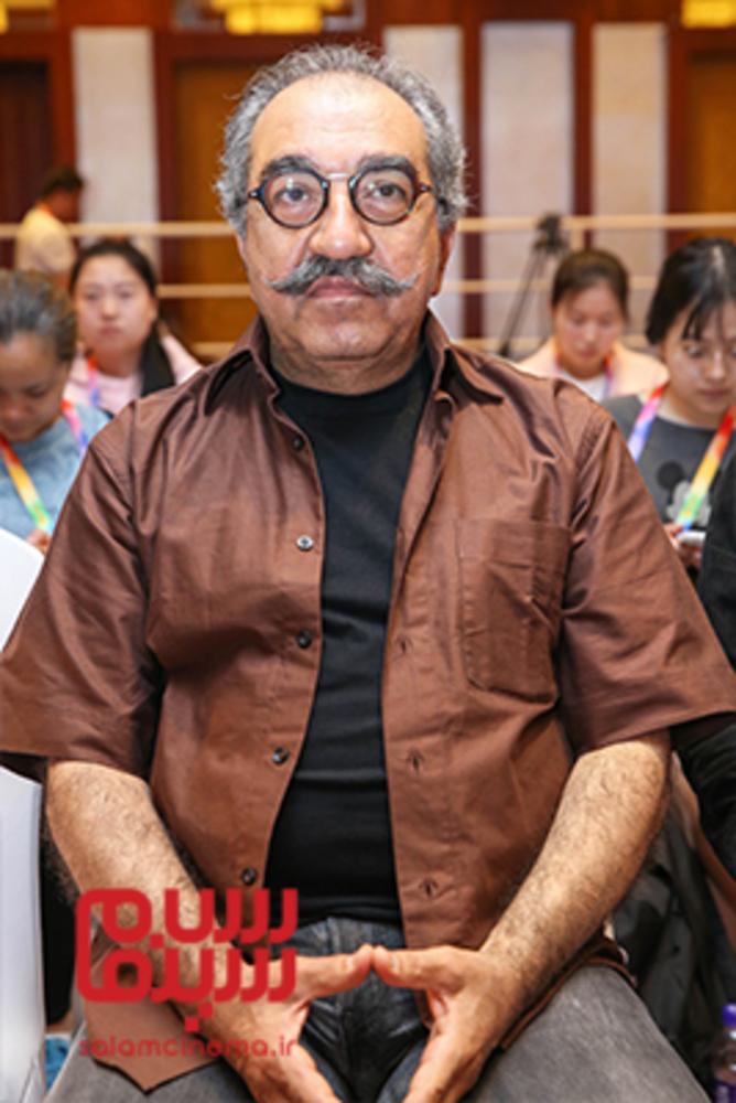 تورج منصوری در نشست پرسش و پاسخ فیلم «ملی و راه های نرفته اش» در جشنواره فیلم پکن2018