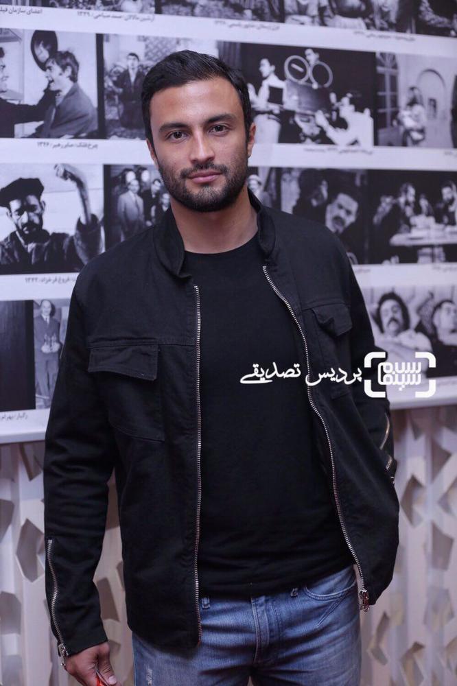 امیر جدیدی در اکران فیلم «تنگه ابوقریب» در جشنواره جهانی فیلم فجر