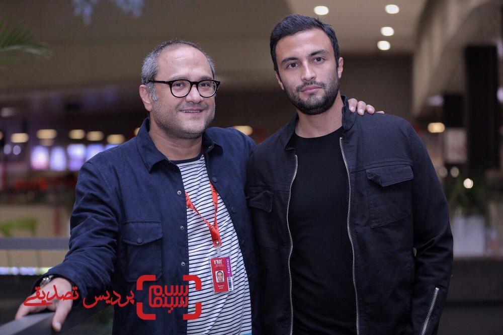 رامبد جوان و امیر جدیدی در اکران فیلم «تنگه ابوقریب» در جشنواره جهانی فیلم فجر