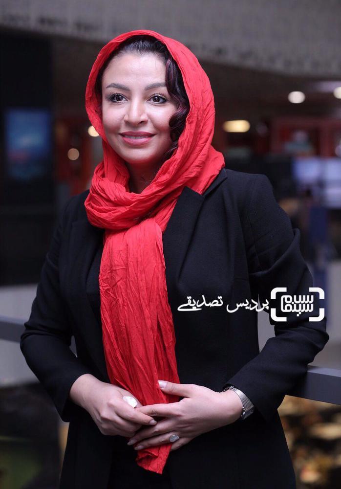 مه لقا باقری در اکران فیلم «تنگه ابوقریب» در جشنواره جهانی فیلم فجر