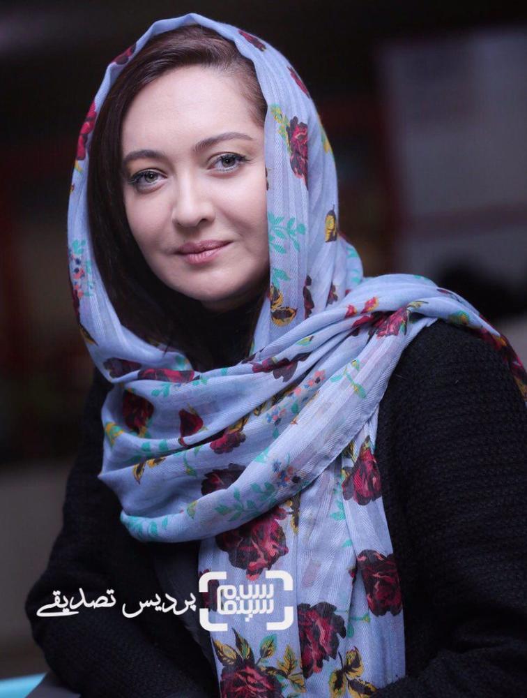 نیکی کریمی در اکران فیلم «آستیگمات» در دومین روز جشنواره جهانی فیلم فجر
