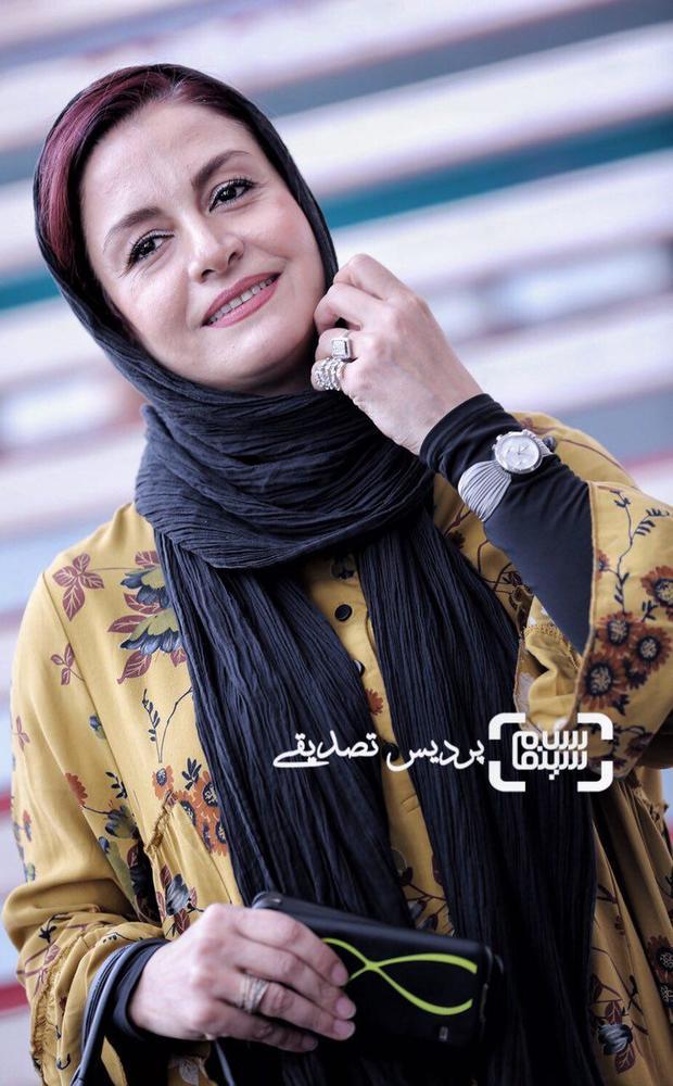 مریلا زارعی در اکران فیلم «تنگه ابوقریب» در جشنواره جهانی فیلم فجر