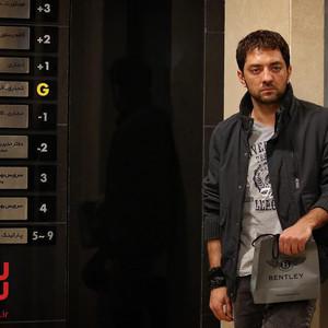 بهرام رادان در نقش مرتضی نژادی عضو تیم ملی تکواندو ایران در المپیک لندن در فیلم سینمایی «سونامی»