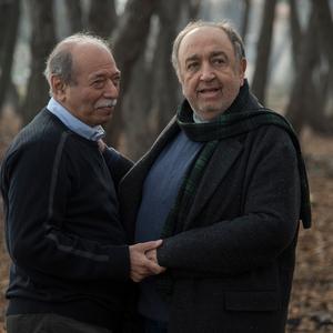 بهمن فرمان آرا و علی نصیریان در فیلم «حکایت دریا»