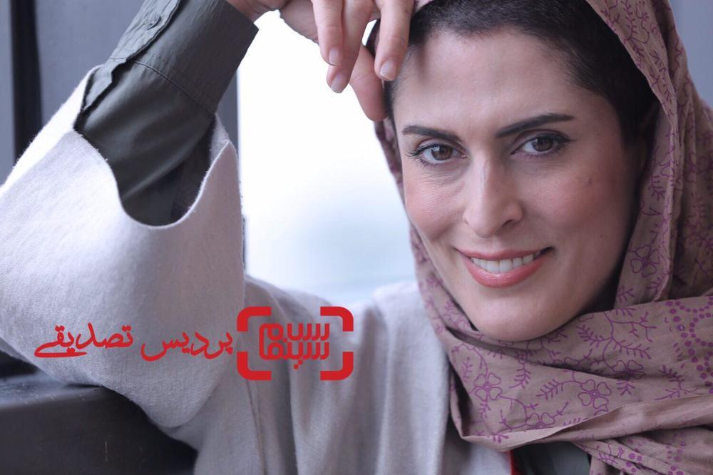 بهناز جعفری در اکران فیلم «پاسیو» در جشنواره جهانی فیلم فجر