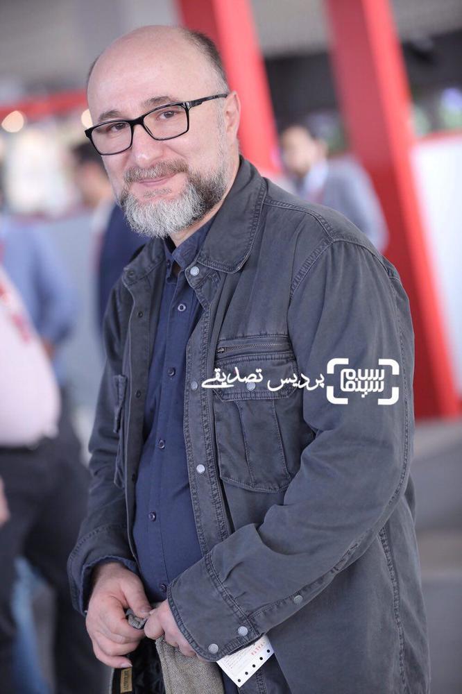 رضا بهبودی در اکران فیلم «سرو زیر آّب» در سی و ششمین جشنواره جهانی فیلم فجر