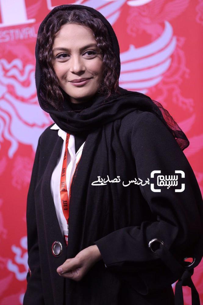 مارال فرجاد در اکران فیلم «ماهور» در سی و ششمین جشنواره جهانی فیلم فجر
