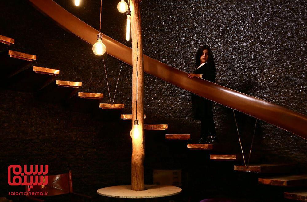 کیمیا ملایی در سریال «احضار» اولین عاشقانه-ترسناک ایرانی