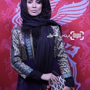 بهدخت ولیان در اکران فیلم «سورنجان» در سی و ششمین جشنواره جهانی فیلم فجر