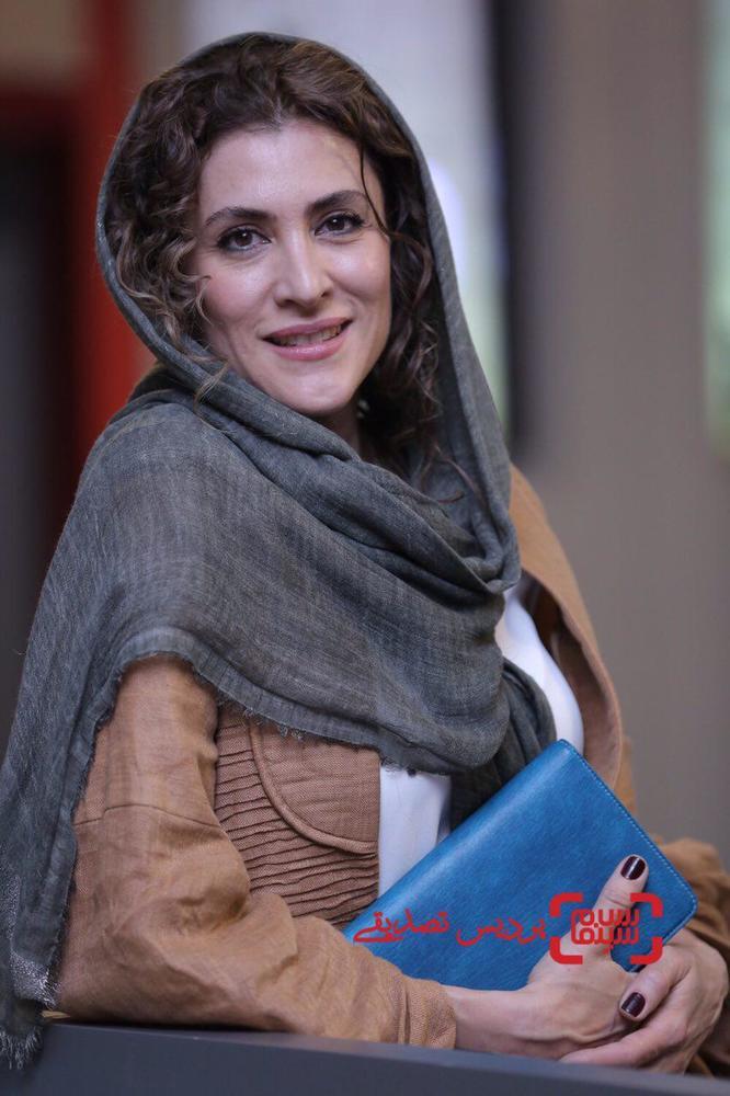 ویشکا آسایش در اکران فیلم «مارموز» در سی و ششمین جشنواره جهانی فیلم فجر