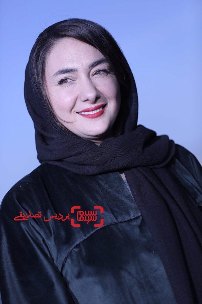 هانیه توسلی در اکران فیلم سینمایی «گرگ بازی» در سی و ششمین جشنواره جهانی فیلم فجر