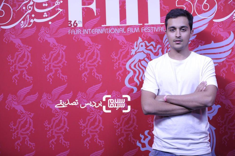 یسنا میرطهماسب و علیرضا تابش در سی و ششمین جشنواره جهانی فیلم فجر