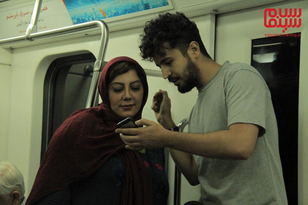 زهرا داوودنژاد و مهرداد صدیقیان در فیلم سینمایی «شماره 17 سهیلا»