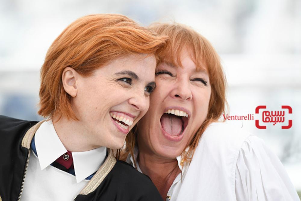امانوئل برکو و اوا حسون در فتوکال فیلم «دختران خورشید» در جشنواره فیلم کن 2018