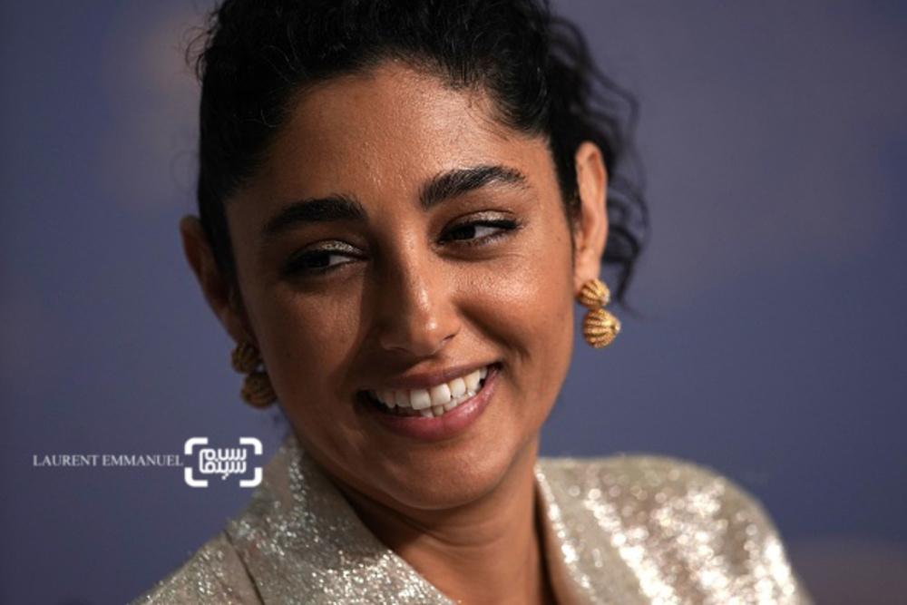 گلشیفته فراهانی در نشست خبری «دختران خورشید»(Girls of the Sun) در جشنواره فیلم کن 2018