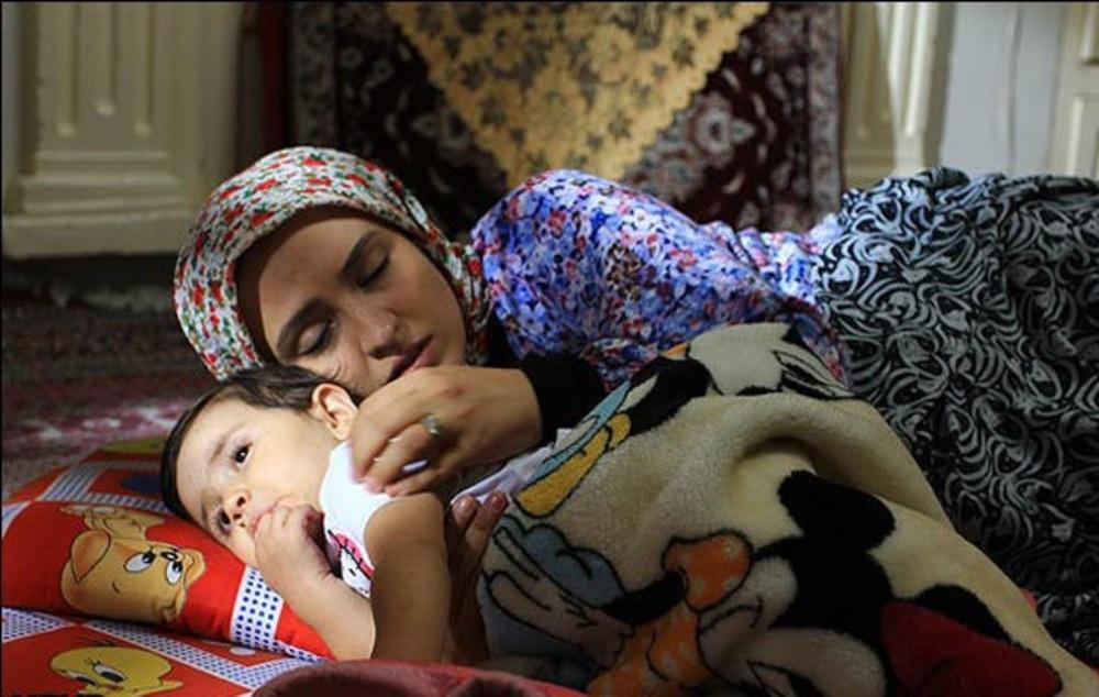 گلاره عباسی در نمایی از فیلم اشیاء از آنچه در آیینه می بینید به شما نزدیکترند