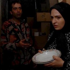 گلاره عباسی و رامسین کبریتی در فیلم اشیاء از آنچه در آیینه می بینید به شما نزدیکترند
