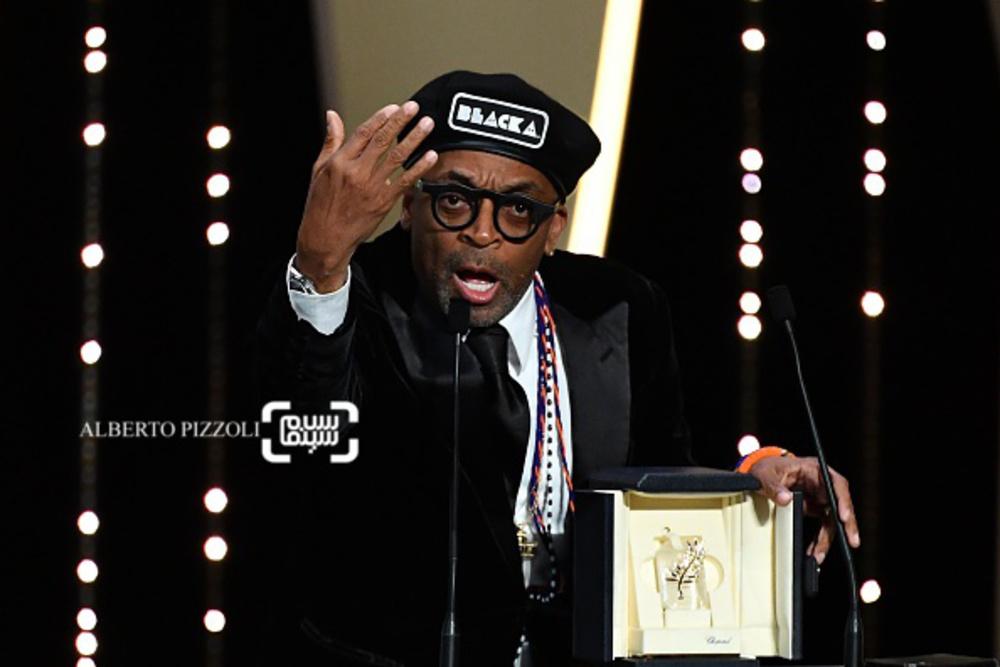 اسپایک لی برنده جایزه بزرگ جشنواره کن 2018 برای فیلم «بلکککلنزمن»(BlacKkKlansman)