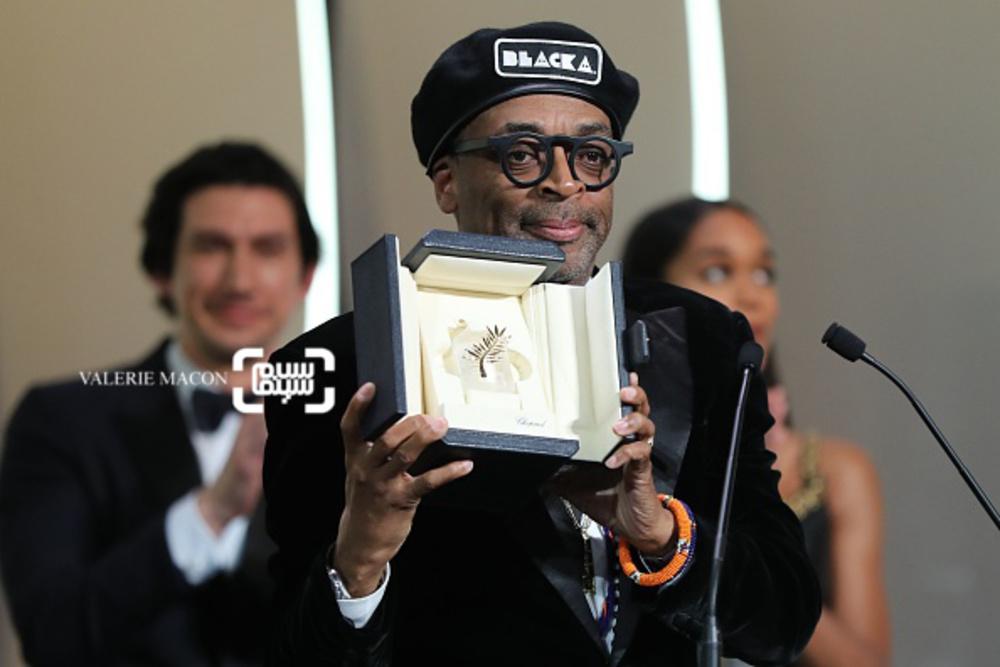 اسپایک لی برنده جایزه بزرگ جشنواره فیلم کن 2018 برای فیلم «بلکککلنزمن»(BlacKkKlansman)