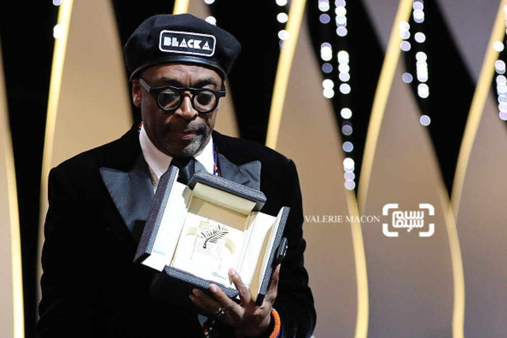 اسپایک لی برنده جایزه بزرگ جشنواره فیلم کن برای فیلم «بلکککلنزمن»(BlacKkKlansman)
