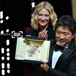 هیروکازو کورئیدا و کیت بلانشت در اختتامیه جشنواره فیلم کن 2018