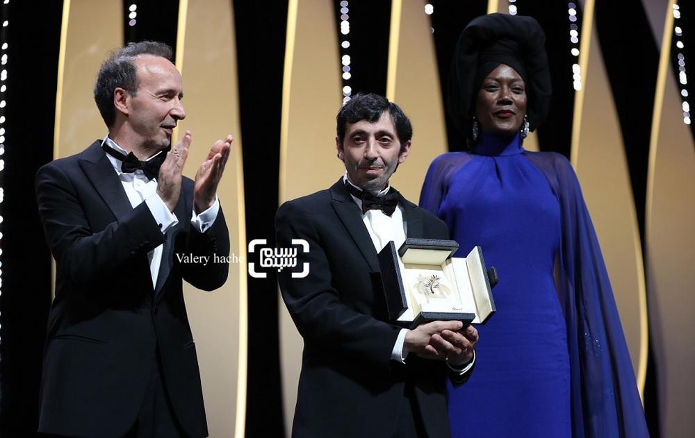 مارسلو فونت، خاجا نین و روبرتو بنینی در اختتامیه جشنواره فیلم کن 2018