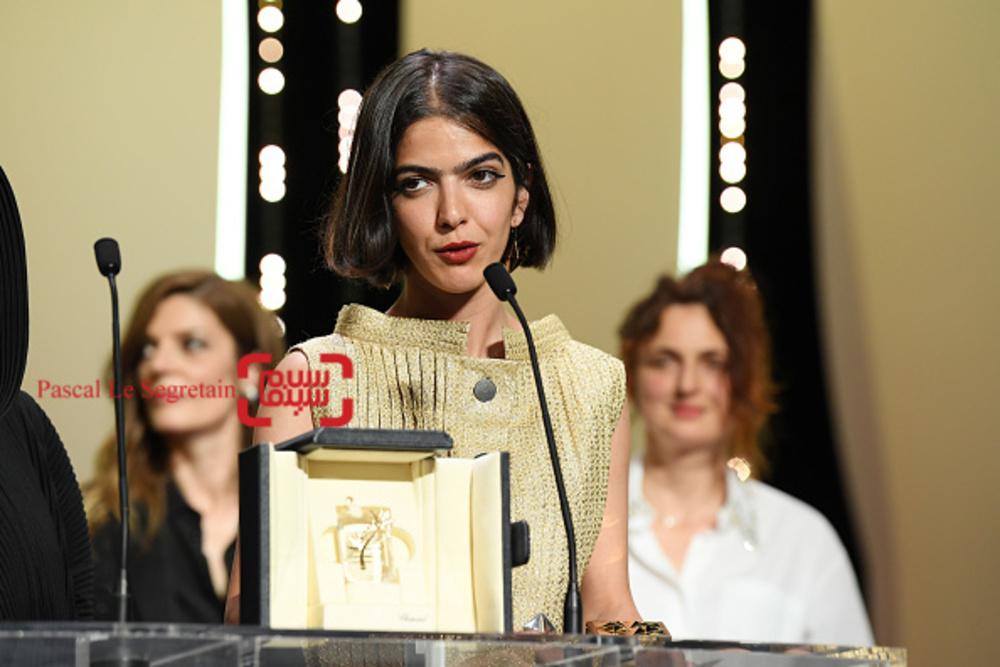 سولماز پناهی، دختر جعفر پناهی جایزه بهترین فیلمنامه جشنواره کن را به جای پدرش دریافت کرد