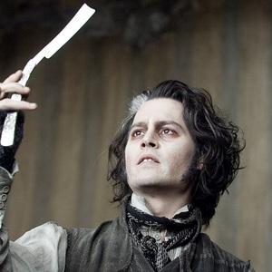 جانی دپ در فیلم سینمایی سویینی تاد آرایشگر شیطانی خیابان فلیت