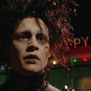 جانی دپ در فیلم سینمایی ادوارد دست قیچی