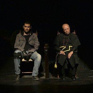 علی نصیریان و شهاب حسینی در تئاتر «اعتراف»