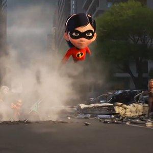 نمایی از فیلم سینمایی شگفت انگیزان ۲ « Incredibles 2»