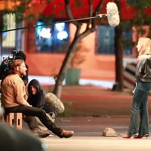 لیدی گاگا و بردلی کوپر درپشت صحنه فیلم سینمایی ستاره ای متولد شد «A Star Is Born»