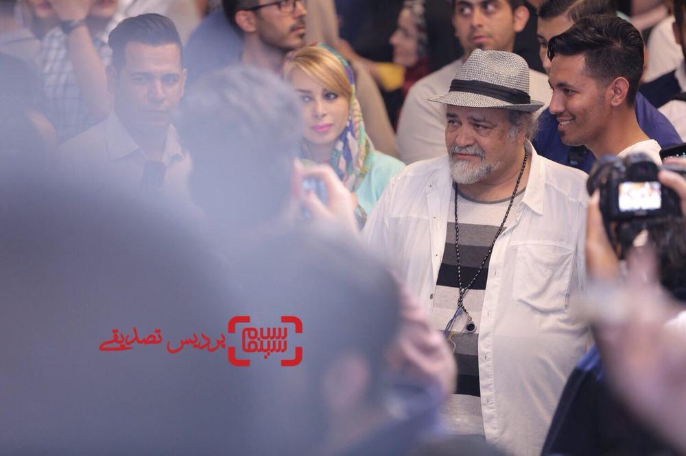 محمدحسین فرح بخش در اکران خصوصی فیلم «دشمن زن» در پردیس سینمایی باغ کتاب