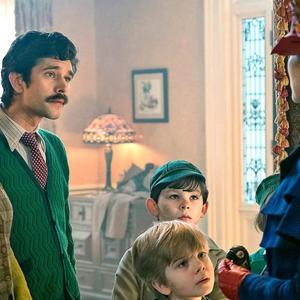 امیلی بلانت و بن ویشاو در فیلم سینمایی بازگشت مری پاپینز (Mary Poppins Returns)