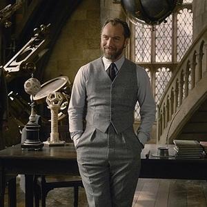 جود لا در فیلم سینمایی «جانوران شگفت انگیز: جنایات گریندل والد» (Fantastic Beasts: The Crimes of Grindelwald)