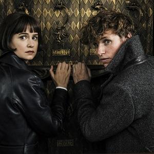 ادی ردمین و کاترین واترستون در  فیلم سینمایی «جانوران شگفت انگیز: جنایات گریندل والد» (Fantastic Beasts: The Crimes of Grindelwald)