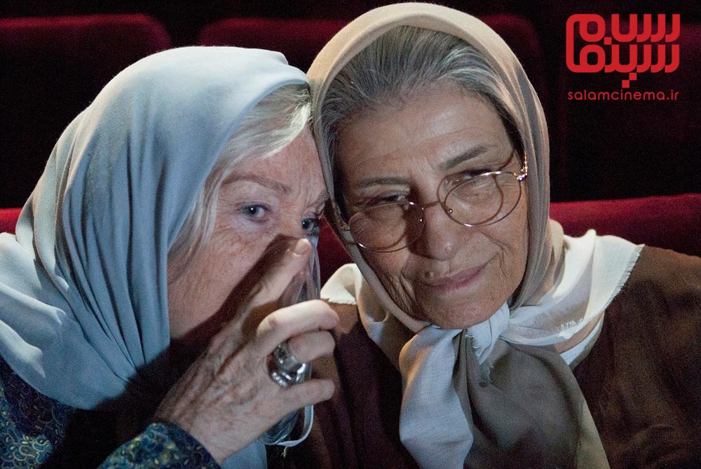 احترام برومند و منظر لشگری حسینی در فیلم سینمایی «وقتی برگشتم...»