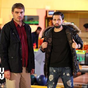 محسن ماهینی و محسن افشانی در فیلم «عشقولانس»
