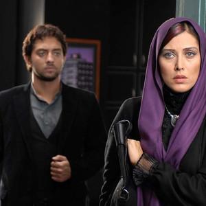 مهتاب کرامتی و بهرام رادان در فیلم «تردید»