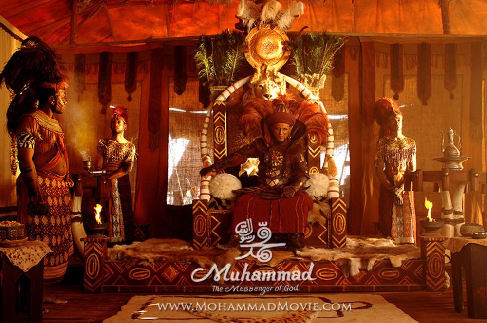 آرش فلاحت پیشه در فیلم محمد رسول الله (ص)