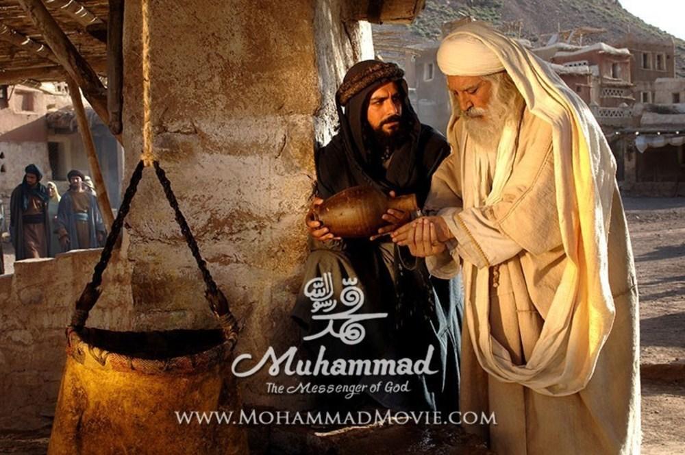 علیرضا شجاعنوری و مهدی پاکدل در فیلم محمد رسول الله(ص)