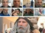 تست گریم محمد عسگری در نقش «ابولهب» عموی پيامبر (ص)