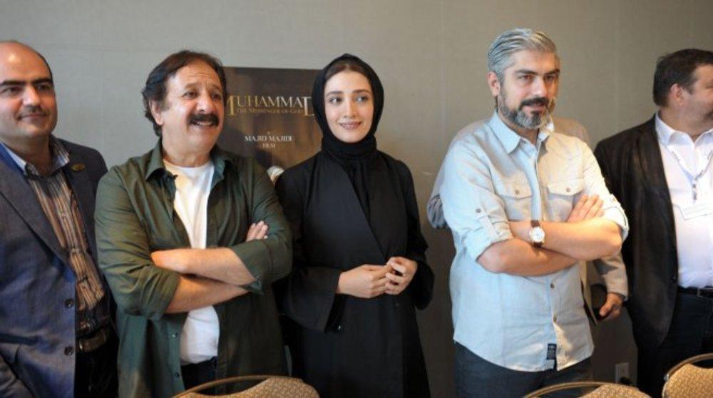 مجید مجیدی و مینا ساداتی و مهدی پاکدل در سی و نهمین جشنواره فیلم مونترال