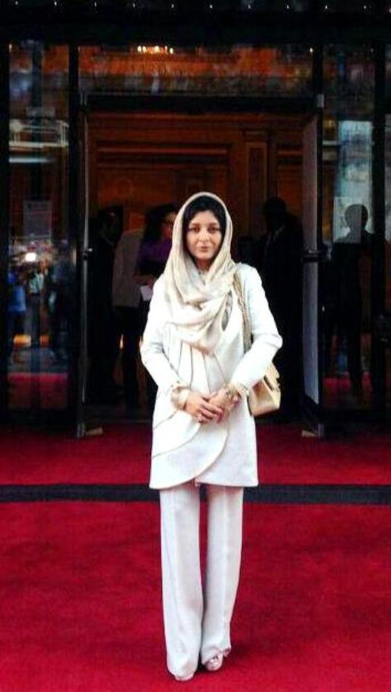 ساره بیات در فرش قرمز فیلم محمد رسول الله(ص) جشنواره فیلم مونترال