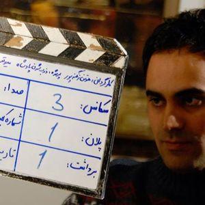 سینا رحمانی در پشت صحنه فیلم ذوب شدن پادشاه