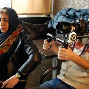 نسیم ادبی در پشت صحنه فیلم ذوب شدن پادشاه