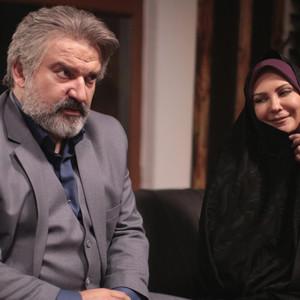 مهدی سلطانی و لعیا زنگنه در سریال «پدر»