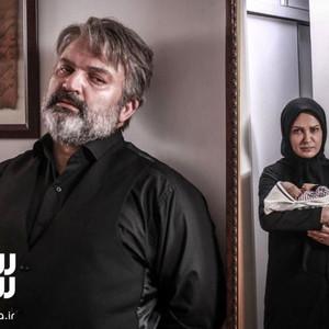 مهدی سلطانی و لعیا زنگنه در سریال تلویزیونی «پدر»