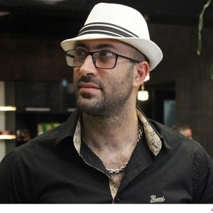 امیر احمد انصاری در اکران خصوصی فیلم «پدر آن دیگری»